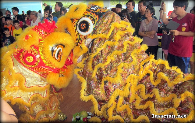 Lion dance to liven up the atmosphere