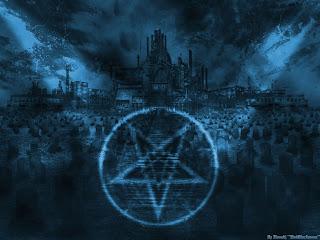 Satanic Dark Gothic Wallpaper