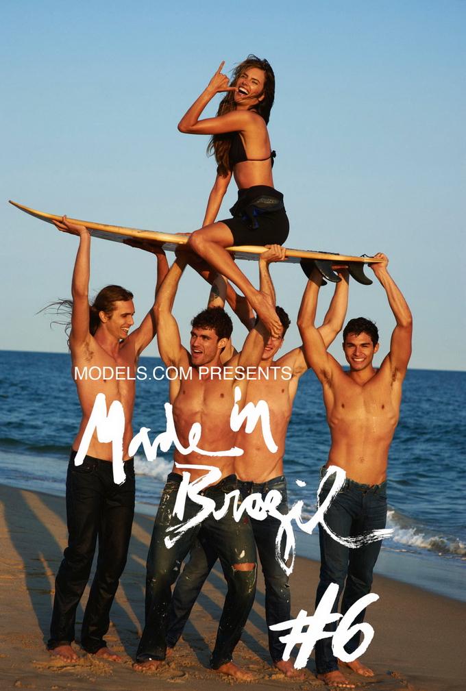 Nr 9 Alessandra Ambrosio By Stewart Shining For Brazil Magazine