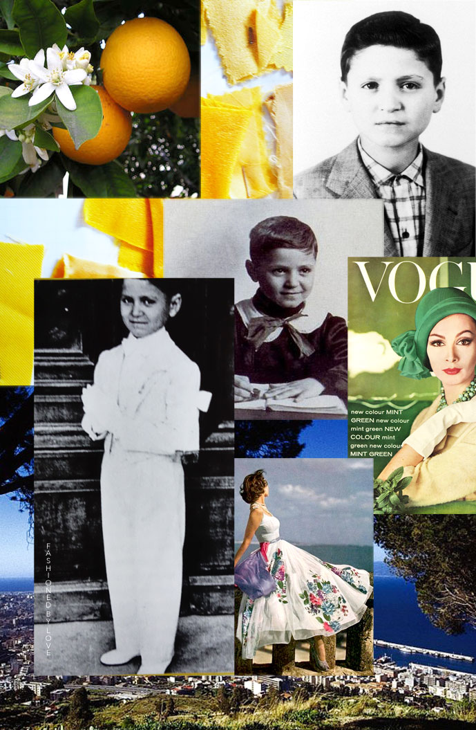 Gianni Versace childhood | Gianni Versace / Gianni Versace biography / Gianni Versace quotes / Life of Gianni Versace / Made in Italy / Italian fashion designers / via fashioned by love british fashion blog