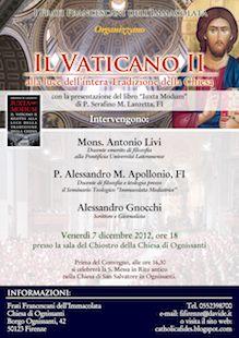 Il Vaticano II con Iuxta modum