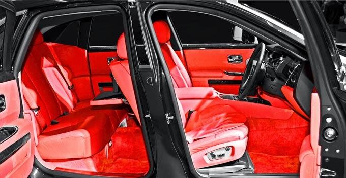"Rolls Royce Ghost aro 24"""