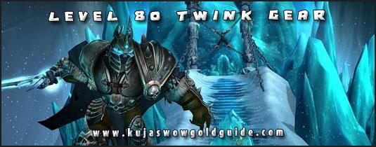 level 80 twink gear