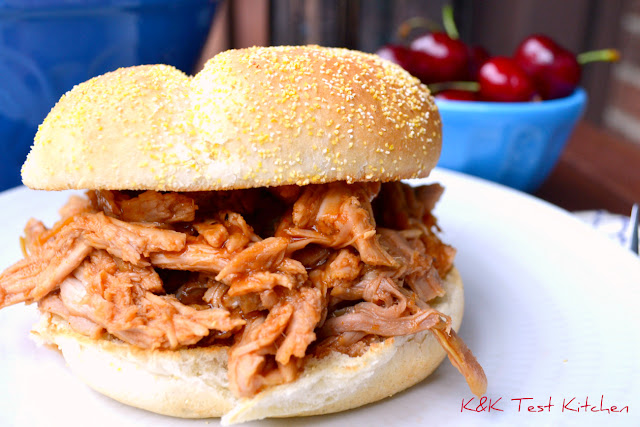 Cherry Coke Pulled Pork Sandwich recipe