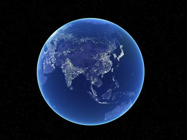 Фотографии земли с космоса