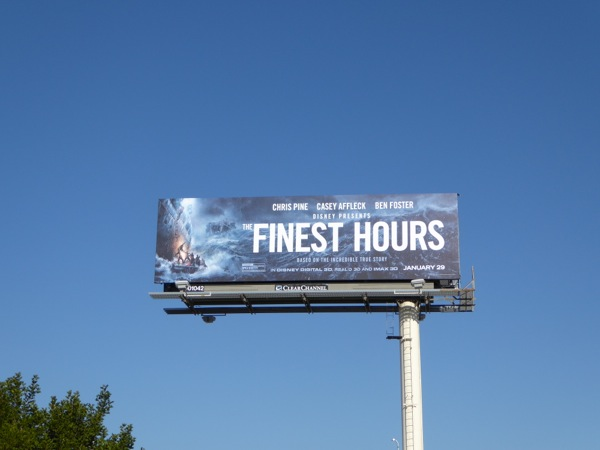 The Finest Hours billboard