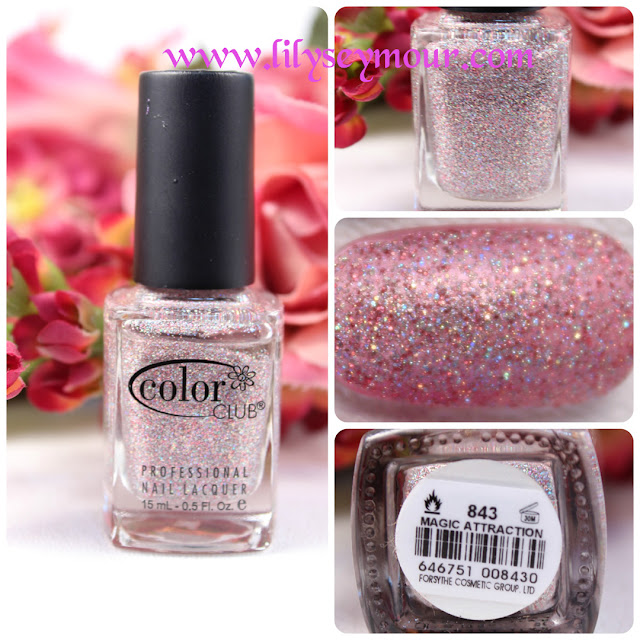 Color Club Magic Attraction Glitter Nail Polish
