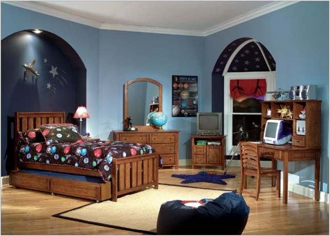 Young boys bedroom themes room design inspirations for Themed bedrooms for boys