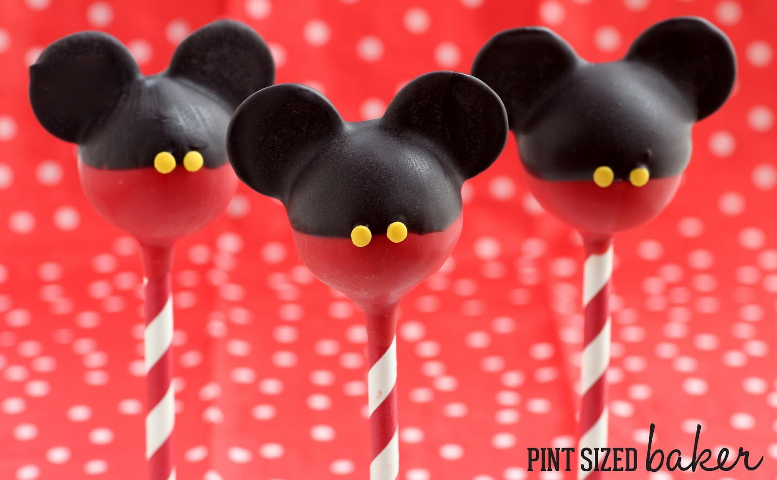 Cake Pop Stand Mickey Mouse
