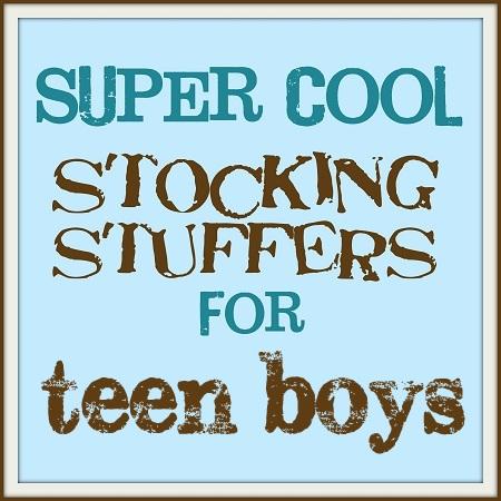 Cool Stocking Stuffers super cool stocking stuffers: teen boys - the shabby creek cottage