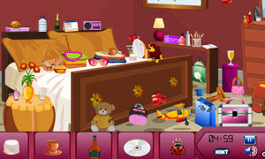 Bed Room Hidden Objects
