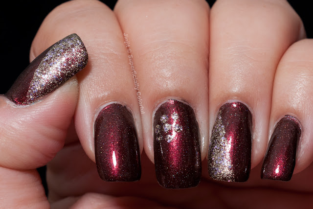 Mod Lacquer Eternal Blaze Sally Hansen Gem Crush Big Money