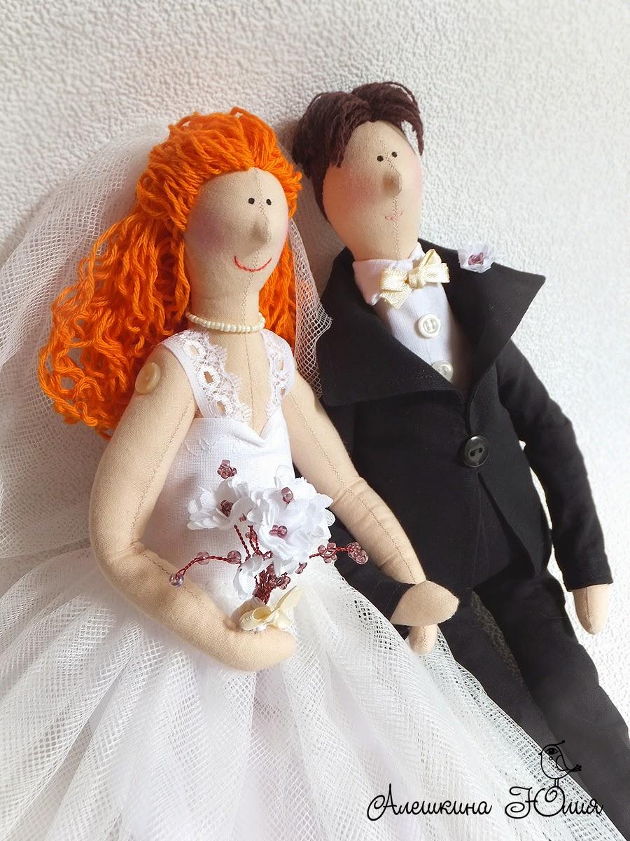 свадебные куклы по фотографии