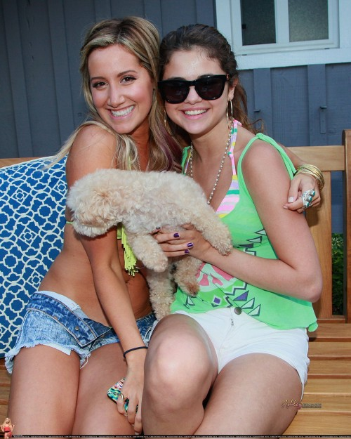 Ashley Tisdale Celebrates 27th Birthday With Beach Bash