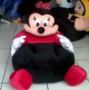 PUSAT GROSIR SOFA BONEKA MINNIE MOUSE
