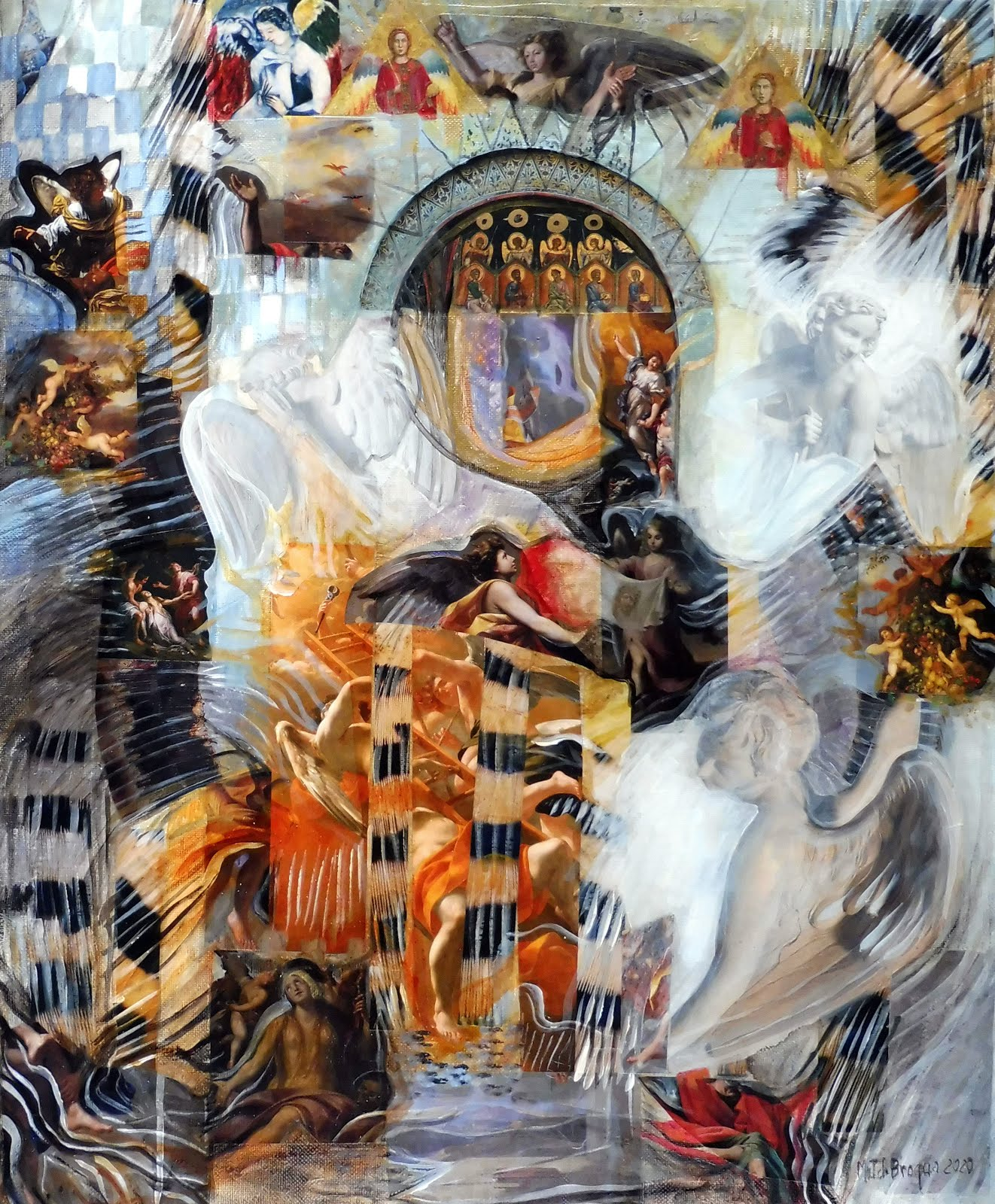 Angels - 50 x 61 cm - 2020