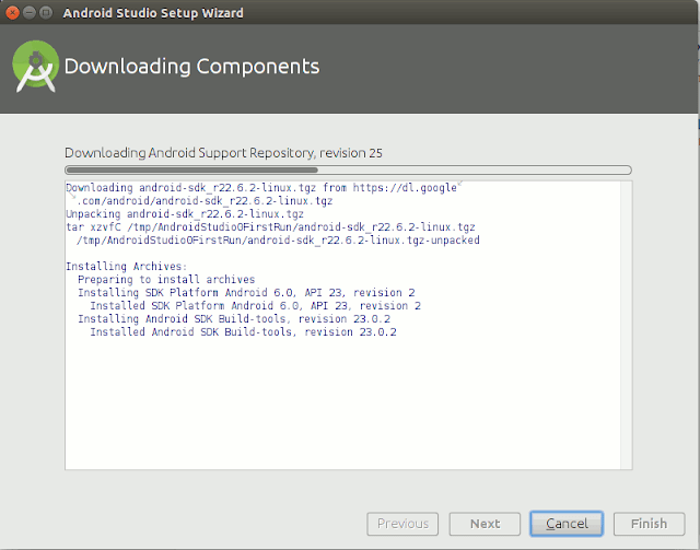 Download Android Studio Component