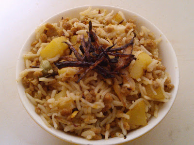 Soya Pulao