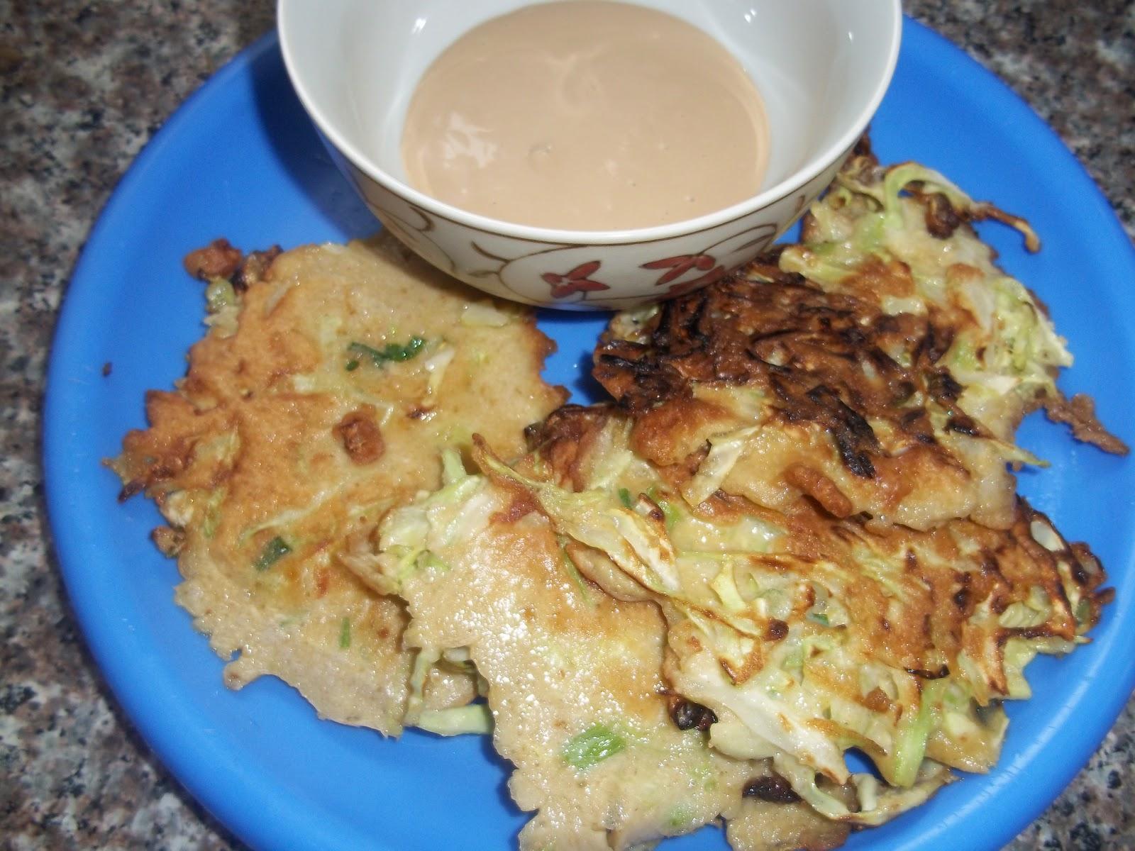 Okonomiyaki- Japanese Cabbage Pancakes (Vegetarian, Gluten Free ...