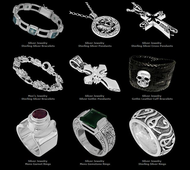 Gothic Jewelry Blog Gothic Jewelry from Sterling Silver Jewelry