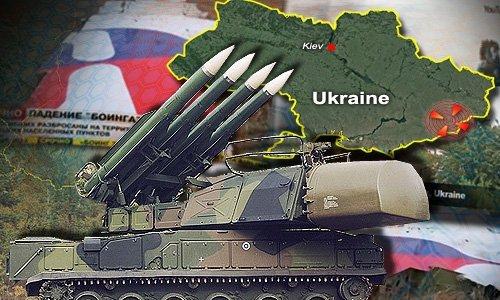 Buk 9K37 Missile MH17