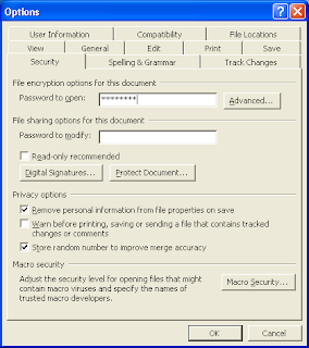 How To Set Password In Microsoft Word Document
