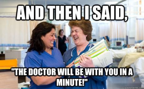 Scumbag nurses comic