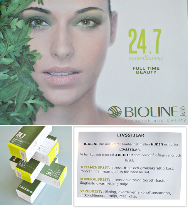 Bioline lanserar 24.7, hudvård anpassad efter din livsstil
