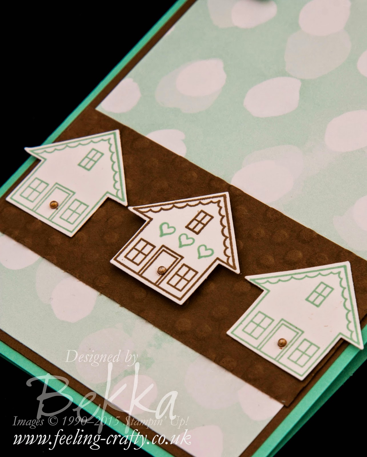 New Home Card - check out this blog for lots of great ideas