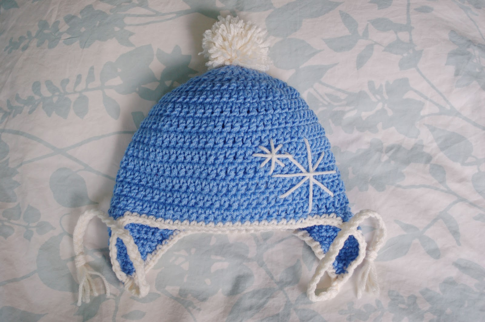 22a1ea9278c Alli Crafts  Free Pattern  Earflap Hat - Toddler