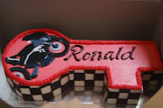 Ronald's 21st Birthday Cake 1