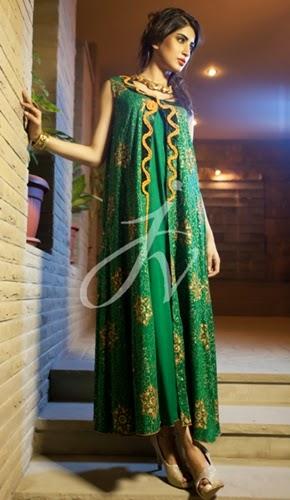 Javeria Zeeshan luxury pret formals-2014-15