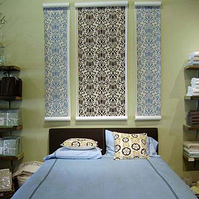 Un toque vintage cabeceros de cama en nuestra decoraci n for Cabeceros de cama con papel pintado