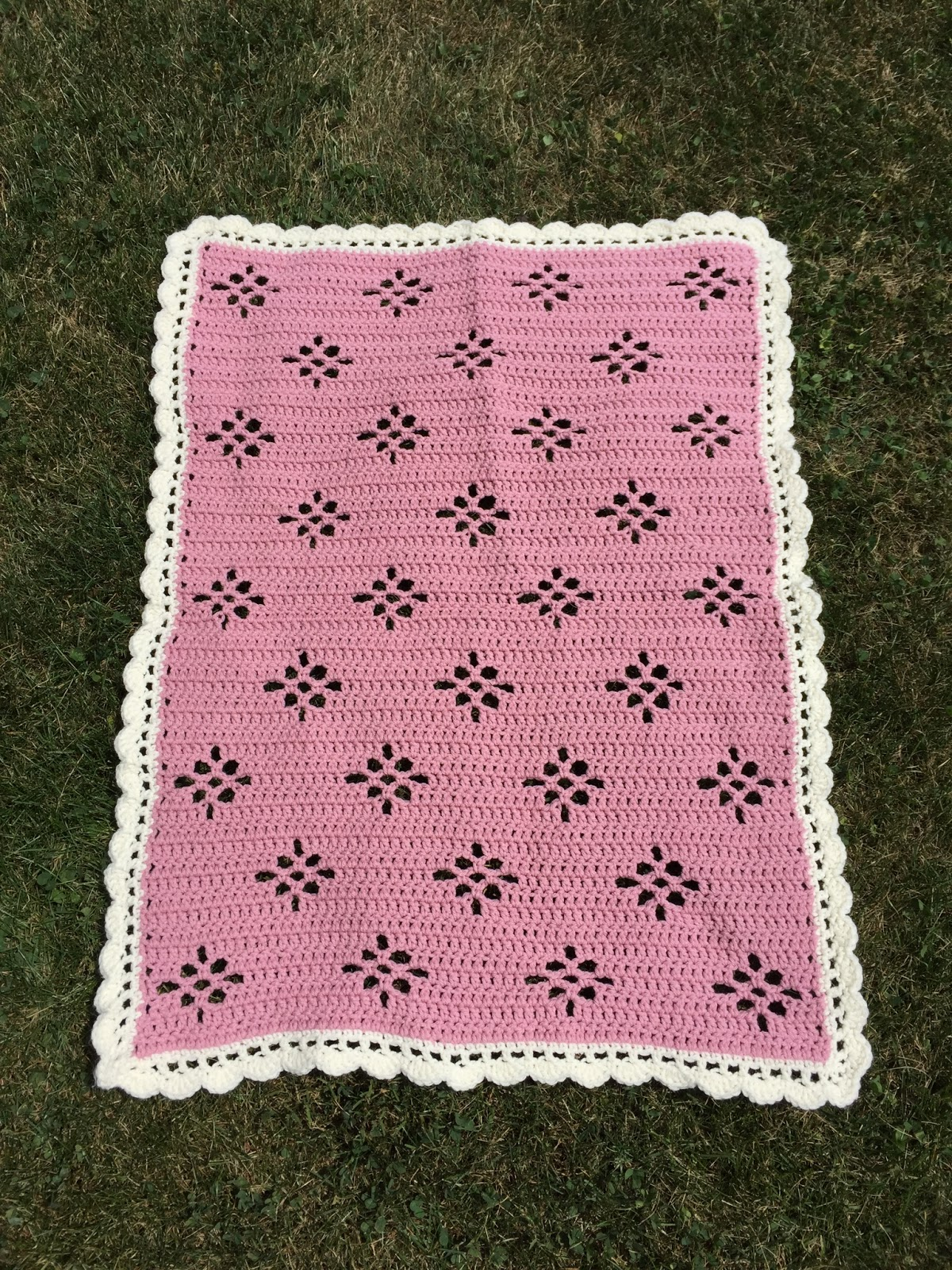 Skein and Hook: Free Crochet Pattern: Molalla Baby Blanket