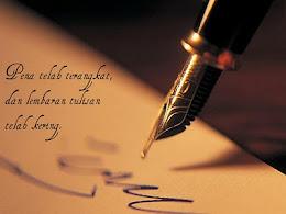 ::Menulislah Kerana Allah::