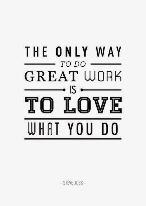 Greetings from socal september 2014 the only way to do great work is to love what you do steve jobs m4hsunfo