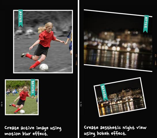 Xóa phông nền cho hình đã chụp bằng ứng dụng trên Smartphone After Focus