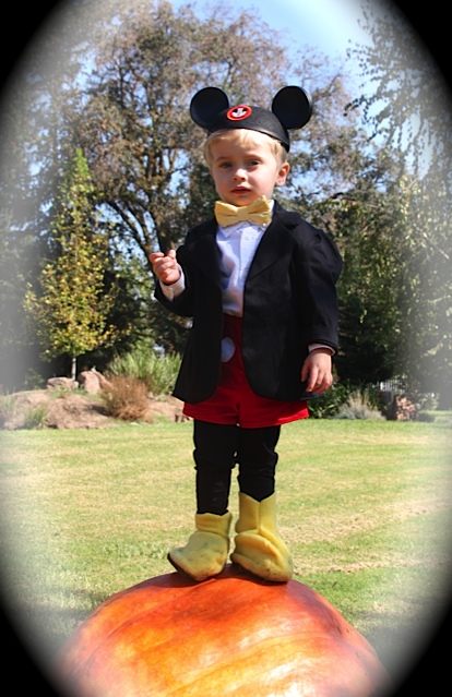 One of my closest girlfriends doesnu0027t have the slightest interest in u201cDIYu201d but she LOVES Halloween and appreciates a handmade costume for her little boy ...  sc 1 st  girl. Inspired. & Mickey Mouse costume (yes! for a boy!) - girl. Inspired.