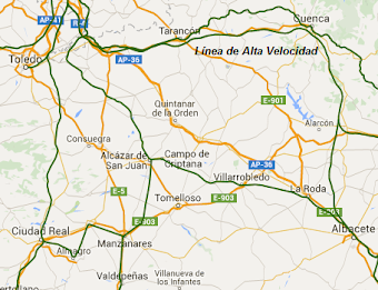 Otra ocurrencia de CCOO: AVE`s Albacete-Cuenca-Toledo