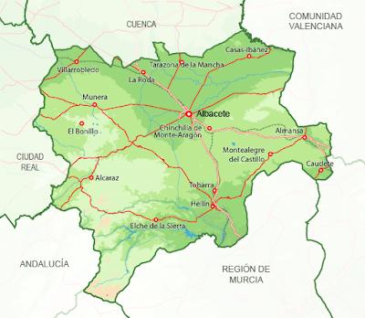 albacete mapa