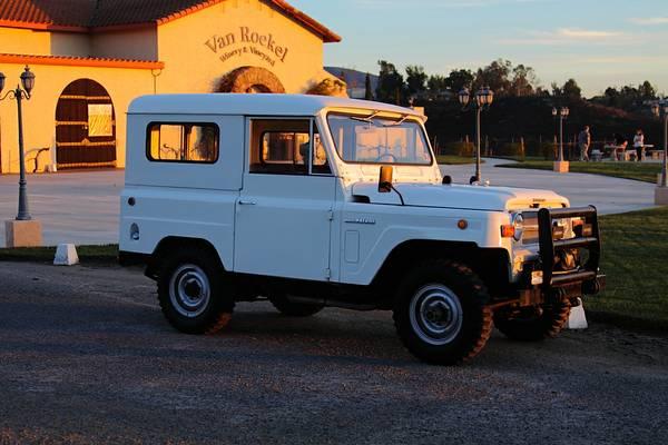 1969 Nissan Patrol Restored For Sale In California 19 000
