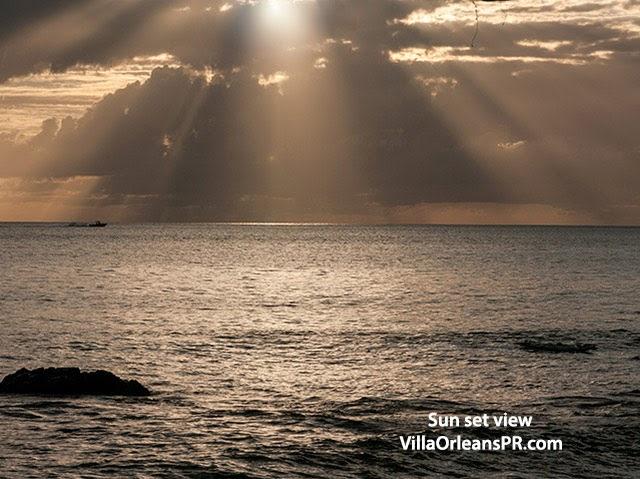 Rincon Puerto Rico sunset Villa Orleans