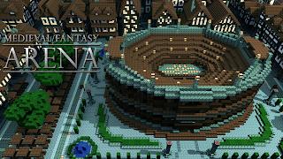 Medieval fantasy arena