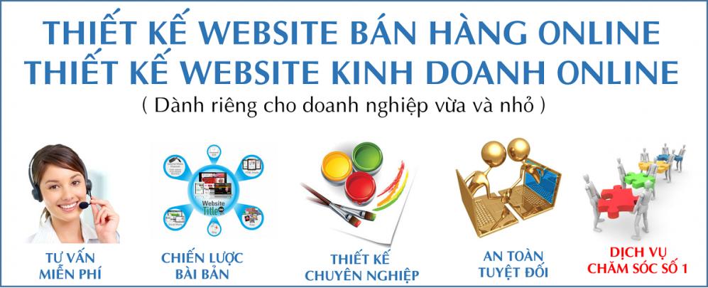 Dich vụ thiet ke website bán hàng tren nền blgospot