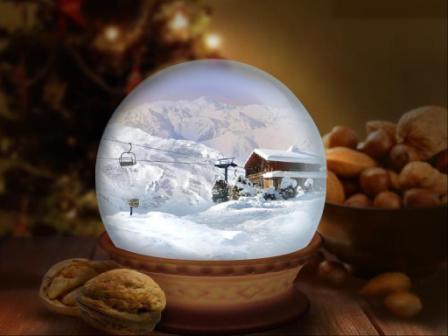 1 y el grinch se rob la navidad como el grinch se - Bola nieve cristal ...