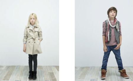 zara nios looks de moda infantil para otoo