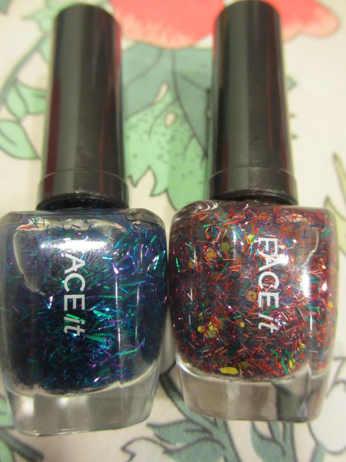 face shop festival nails bl601 mx311