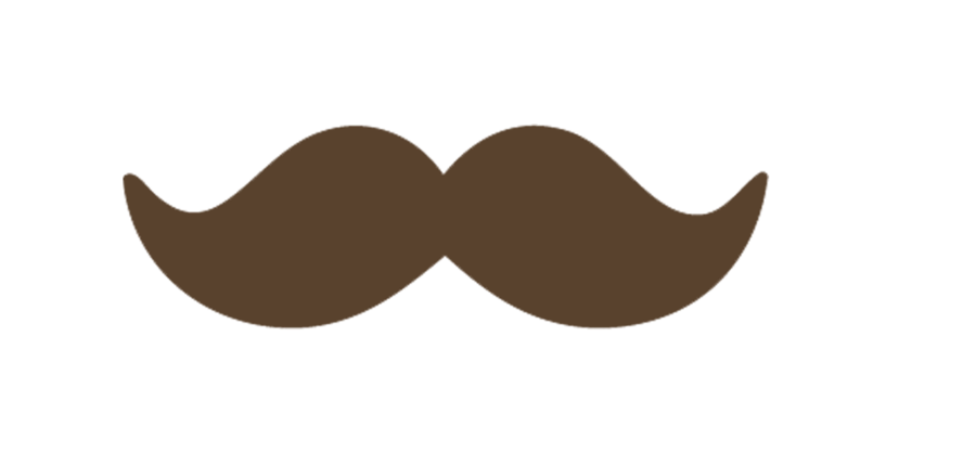Images For Brown Cartoon Mustache Fashion S Feel Tips