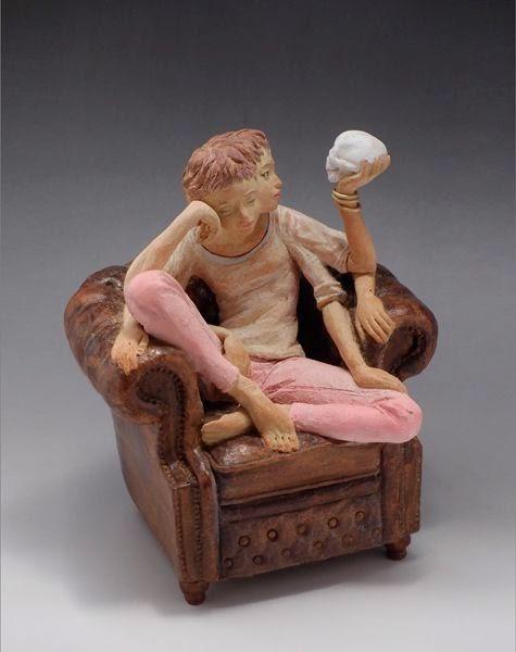 Cute Sculptures Art by Yoshitoshi Kanemaki