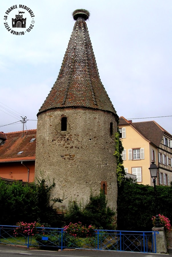 RIBEAUVILLE (68) - La Tour des Cigognes